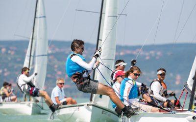 Flaar 18 hajóosztály verseny a swertkupán